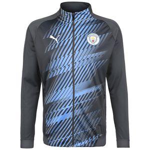 Manchester City Stadium League Trainingsjacke Herren, dunkelgrau / blau, zoom bei OUTFITTER Online