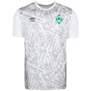SV Werder Bremen Warm Up Trainingsshirt Herren, weiß / hellgrau, zoom bei OUTFITTER Online