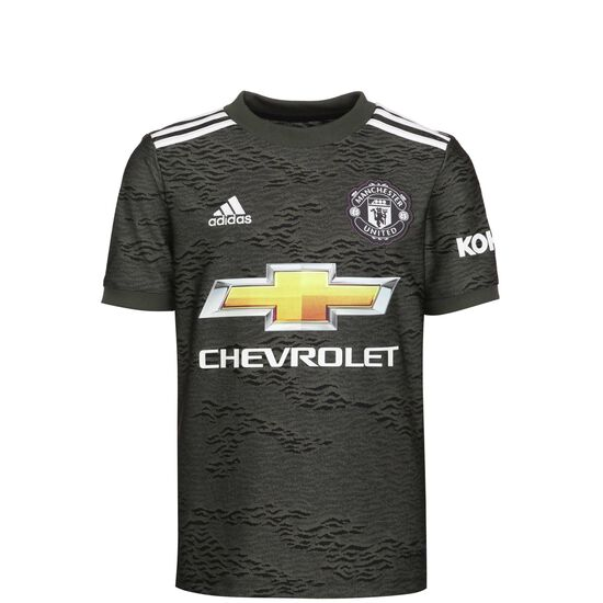 Manchester United Trikot Away 2020/2021 Kinder, anthrazit / schwarz, zoom bei OUTFITTER Online