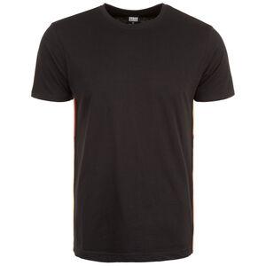 Side Taped T-Shirt Herren, schwarz / bunt, zoom bei OUTFITTER Online