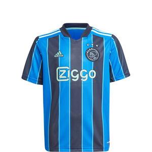 Ajax Amsterdam Trikot Away 2021/2022 Kinder, blau / dunkelblau, zoom bei OUTFITTER Online