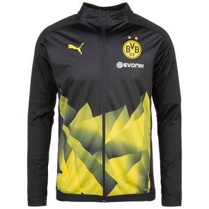Borussia Dortmund International Stadium Trainingsjacke Herren, schwarz / gelb, zoom bei OUTFITTER Online