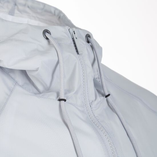 Windrunner Kapuzenjacke Herren, weiß / grau, zoom bei OUTFITTER Online