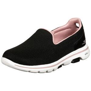 GOwalk 5 Walkingschuh Damen, schwarz / rosa, zoom bei OUTFITTER Online