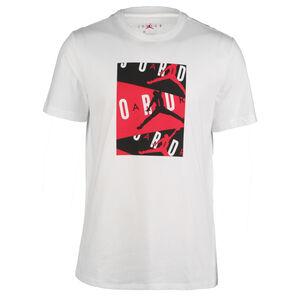 Jordan T-Shirt Herren, weiß / rot, zoom bei OUTFITTER Online