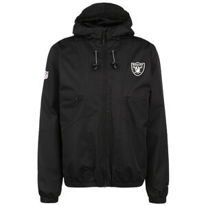 NFL Las Vegas Raiders Iconic Back To Basics Windbreaker Herren, schwarz, zoom bei OUTFITTER Online