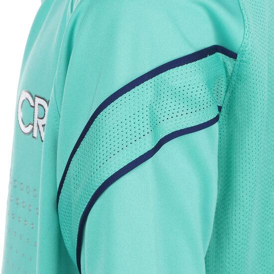 CR7 Fußballshirt Kinder, türkis / silber, zoom bei OUTFITTER Online