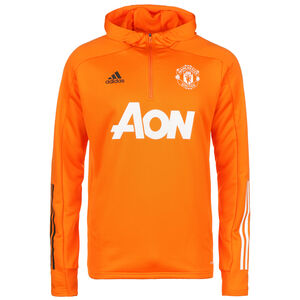 Manchester United Kapuzenpullover Herren, orange / weiß, zoom bei OUTFITTER Online