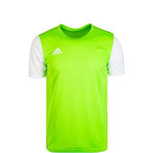 Estro 19 Fußballtrikot Kinder, hellgrün / weiß, zoom bei OUTFITTER Online