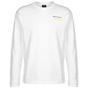 Sport Style Optiks Longsleeve Herren, weiß / gelb, zoom bei OUTFITTER Online