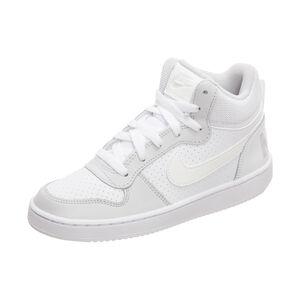 Court Borough Mid Sneaker Kinder, weiß / grau, zoom bei OUTFITTER Online