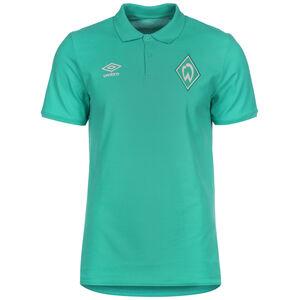 SV Werder Bremen Travel Poloshirt Herren, grün, zoom bei OUTFITTER Online