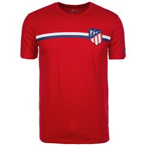 Atletico Madrid Crest T-Shirt Herren, Rot, zoom bei OUTFITTER Online
