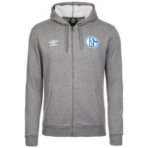 FC Schalke 04 Kapuzenjacke Herren, grau, zoom bei OUTFITTER Online