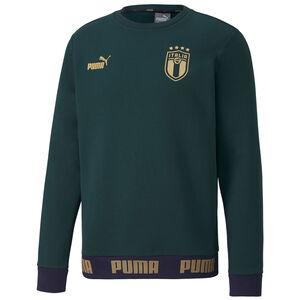 FIGC Italien FtblCulture Sweatshirt EM 2020 Herren, dunkelgrün / gold, zoom bei OUTFITTER Online