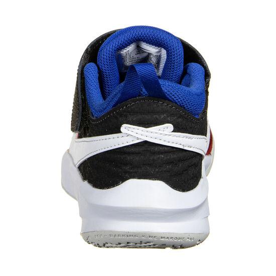 Team Hustle D 10 Basketballschuh Kinder, rot / blau, zoom bei OUTFITTER Online