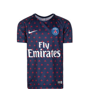 Paris St.-Germain Dry Squad GX 2 Trainingsshirt Kinder, dunkelblau / weiß, zoom bei OUTFITTER Online