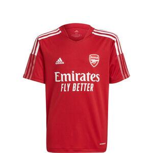 FC Arsenal Trainingsshirt Kinder, rot / weiß, zoom bei OUTFITTER Online