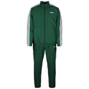 3-Streifen Woven Cuffed Trainingsanzug Herren, grün, zoom bei OUTFITTER Online