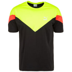 MCS Slim T-Shirt Herren, schwarz / gelb, zoom bei OUTFITTER Online