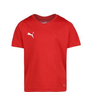 Liga Core Fußballtrikot Kinder, rot / weiß, zoom bei OUTFITTER Online