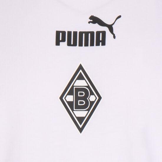 Borussia Mönchengladbach FtblCulture T-Shirt Herren, weiß / schwarz, zoom bei OUTFITTER Online