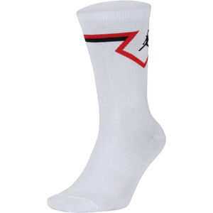 Jordan U Diamond Socken Herren, weiß / rot, zoom bei OUTFITTER Online