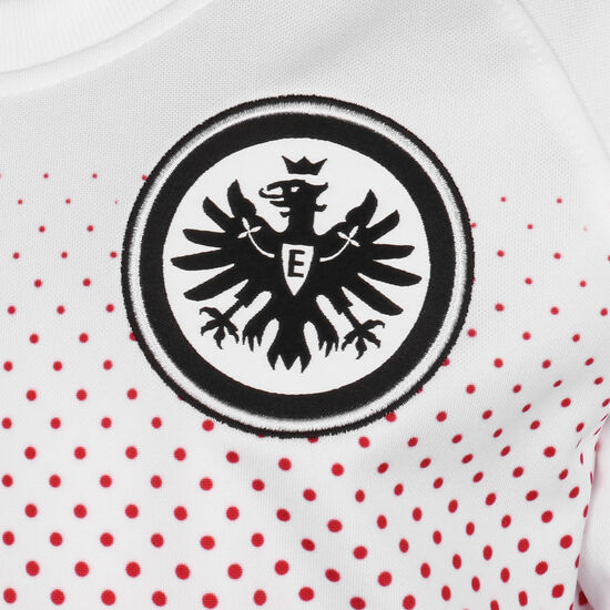 Frankfurt Dry Trainingsshirt Kinder, weiß / rot, zoom bei OUTFITTER Online