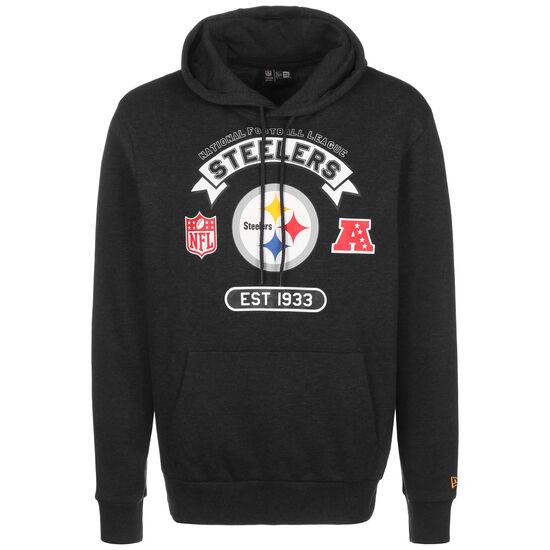 NFL Pittsburgh Steelers Graphic Kapuzenpullover Herren, anthrazit / weiß, zoom bei OUTFITTER Online
