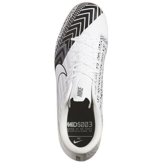 Mercurial Vapor 13 Academy MDS TF Fußballschuh Herren, weiß / schwarz, zoom bei OUTFITTER Online