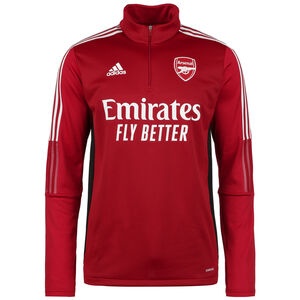 FC Arsenal Warm Trainingssweat Herren, rot / weiß, zoom bei OUTFITTER Online