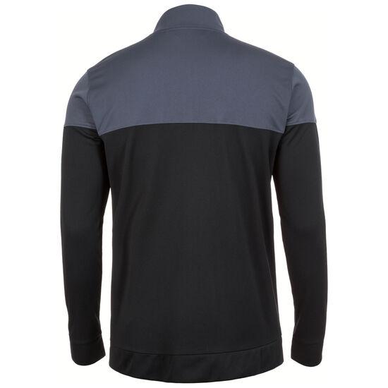 HeatGear Sportstyle Pique Trainingsjacke Herren, grau / schwarz, zoom bei OUTFITTER Online
