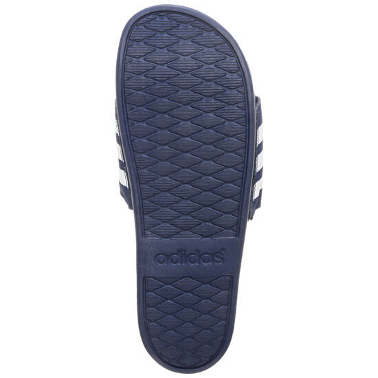 Comfort Adilette Badesandale, dunkelblau / weiß, zoom bei OUTFITTER Online