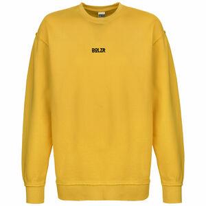 Oversized Sweatshirt Herren, gelb / schwarz, zoom bei OUTFITTER Online