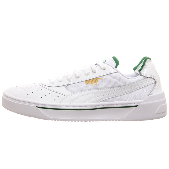 Cali-0 Sneaker, weiß / grün, zoom bei OUTFITTER Online