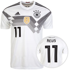 DFB Trikot Home Reus WM 2018 Herren, Weiß, zoom bei OUTFITTER Online