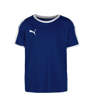 Liga Fußballtrikot Kinder, dunkelblau / weiß, zoom bei OUTFITTER Online
