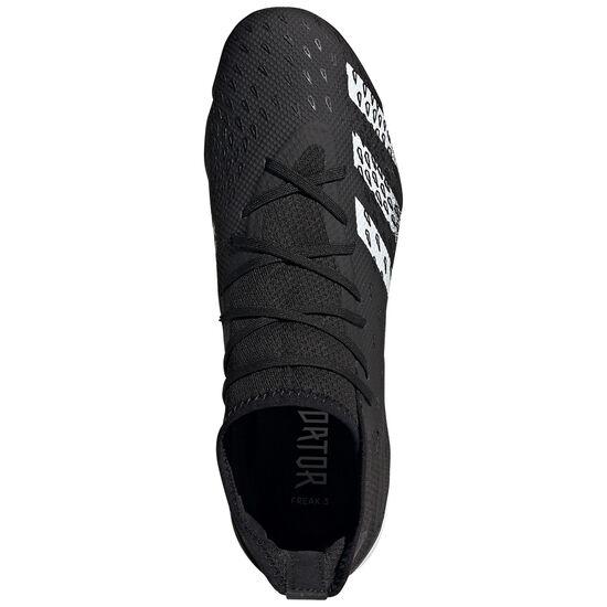Predator Freak .3 TF Fußballschuh Herren, schwarz / weiß, zoom bei OUTFITTER Online