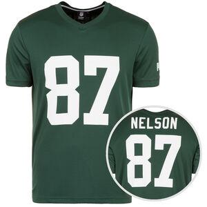 NFL Green Bay Packers #87 Nelson T-Shirt Herren, grün / weiß, zoom bei OUTFITTER Online