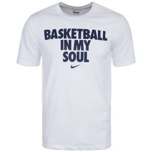 Dri-Fit Basketballshirt Herren, weiß, zoom bei OUTFITTER Online