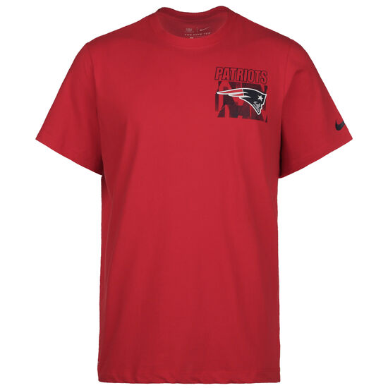 NFL Cotton Facility New England Patriots T-Shirt Herren, rot / blau, zoom bei OUTFITTER Online