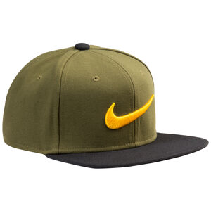 Swoosh Pro Snapback Cap, oliv / schwarz, zoom bei OUTFITTER Online