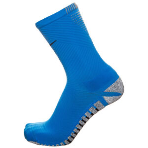 Grip Strike Light Crew Socken Herren, blau / schwarz, zoom bei OUTFITTER Online