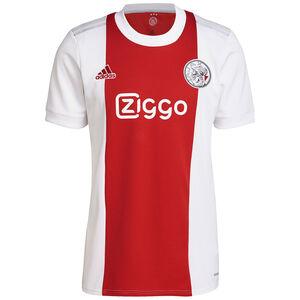 Ajax Amsterdam Trikot Home 2021/2022 Herren, weiß / rot, zoom bei OUTFITTER Online