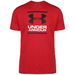 Foundation T-Shirt Herren, rot / weiß, zoom bei OUTFITTER Online