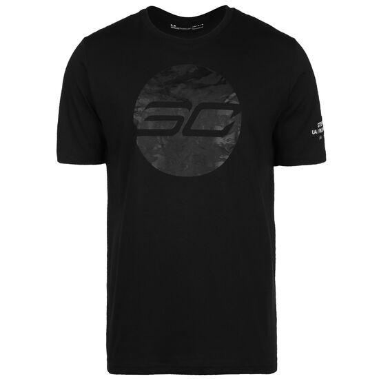 SC30 Camo Logo T-Shirt Herren, schwarz, zoom bei OUTFITTER Online