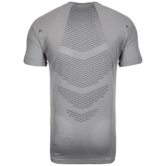 Pro Hypercool Trainingsshirt Herren, grau / schwarz, zoom bei OUTFITTER Online
