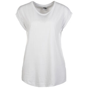 Extended Shoulder T-Shirt Damen, weiß, zoom bei OUTFITTER Online