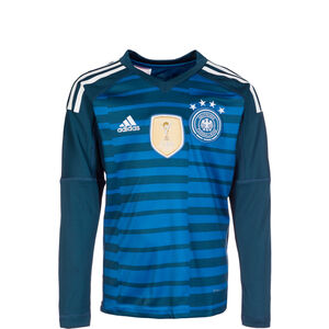 DFB Torwarttrikot Home WM 2018 Kinder, Blau, zoom bei OUTFITTER Online