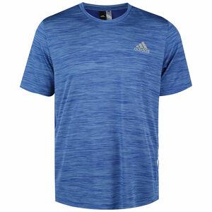 3-Streifen Trainingsshirt Herren, blau, zoom bei OUTFITTER Online